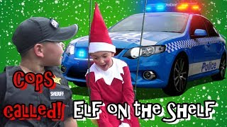 Annoying Elf on the Shelf - Cops Called! 100,000 SUBSCRIBERS CHRISTMAS SPECIAL !!!
