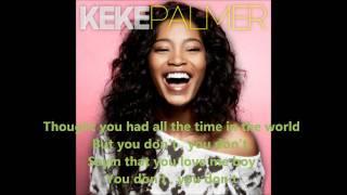 Watch Keke Palmer Shut Up Stop Lying video