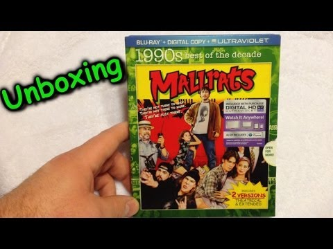Mallrats Blu-ray Unboxing - (1995) - Kevin Smith / Jason Mewes / Ben Affleck / Jason Lee
