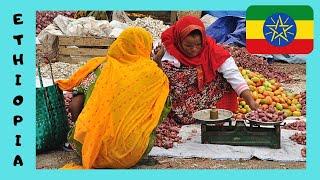 The Market of Lalibela, Ethiopia
