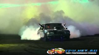 383AXE V8 FALCON AT BURNOUTS UNLEASHED 2014