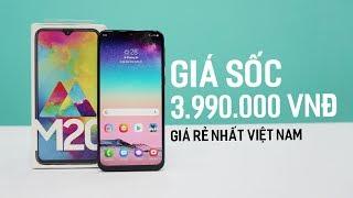 Galaxy M20 - Giá Sốc Chưa Đến 4 Triệu Quá Rer , PIN '' Max Trâu '' Camera Ngon , Hiệu Năng Tốt!