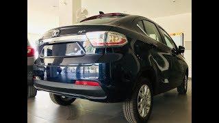 Tata TIGOR XZ pLus top end Review Interior Exterior   Egyptian Blue