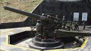 CANHÃO MILITAR DE 240mm HOWTZER DISPARANDO AO VIVO - EXÉRCITO DE TAIWAN