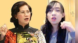 Nữ sinh xinh đẹp nói về điều này khiến Chủ Tịch QH Nguyễn Thị Kim Ngân lồng lộn đòi xử lý