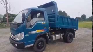Xe tải ben  tự đổ Thaco Trường Hải  2,5 tấn FD250.E4 máy điện