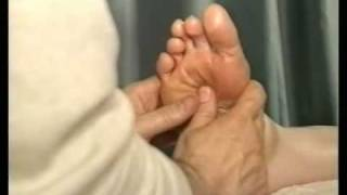 reflexology sequence: right foot part 2