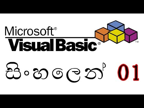 Learn Visual Basic in Sinhala Vol:1
