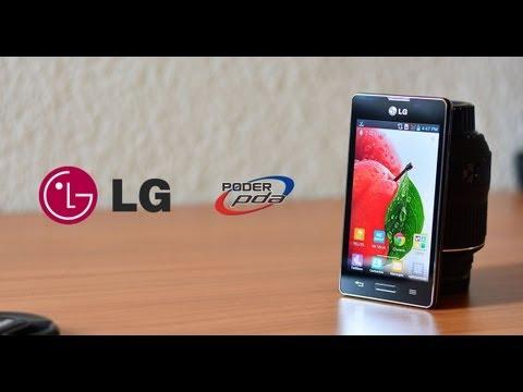 LG Optimus L5X (E540F) con Telcel - Análisis en HD