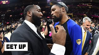 Kevin Durant and Kendrick Perkins trade jabs on Twitter | Get Up