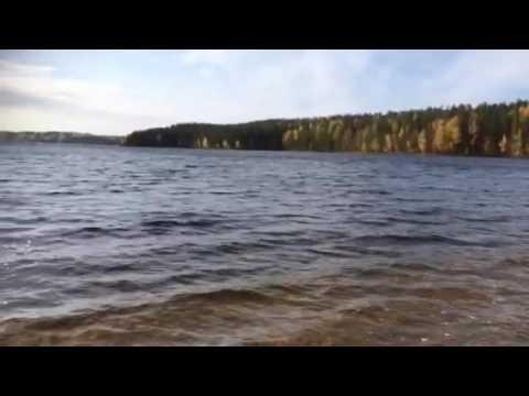 Lake Saimaa in October