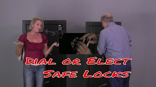 Gun Safe locks, Dial vs. Elect / Digital Safe Locks?