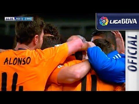 Gareth Bale's amazing goal against Real Sociedad