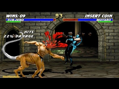 Ultimate Mortal Kombat 3 Classic Sub Zero Gameplay Playthrough