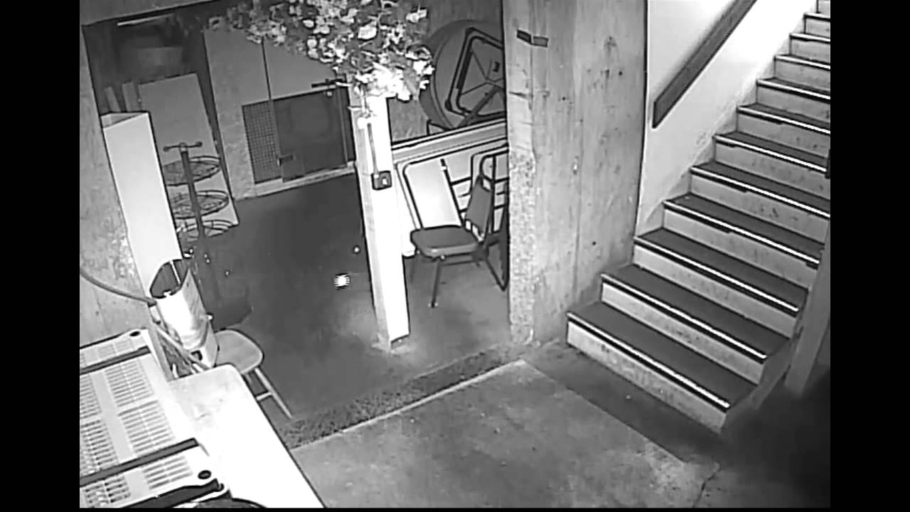 Ghost Pictures Security Camera Captured Ghost At Restaurant
