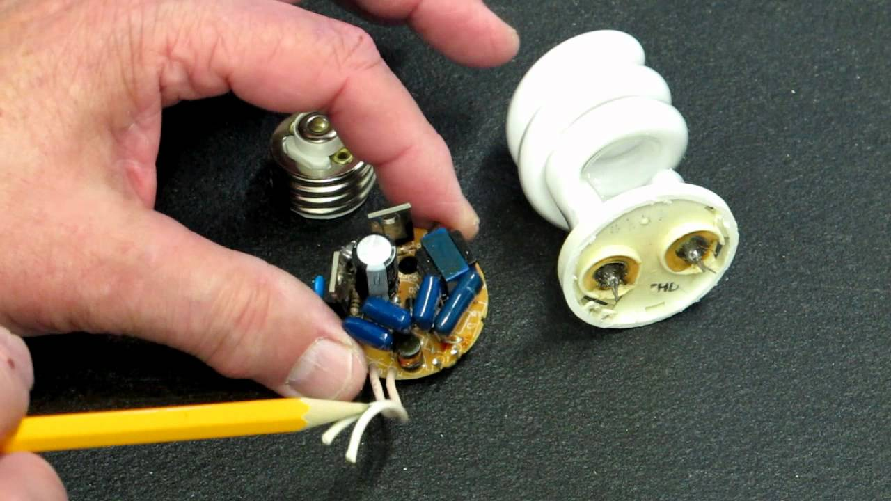 Compact Fluorescent Lights - How Do They Work