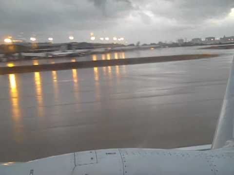 Rough Ride out of Tampa on a 737