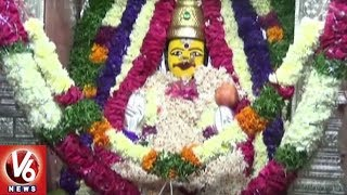 Devi Navaratri Utsavalu 3rd Day : Devotees Throng To Vemulawada Rajanna Temple