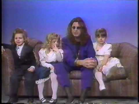 Ozzy & The Kids on The Joan Rivers Show
