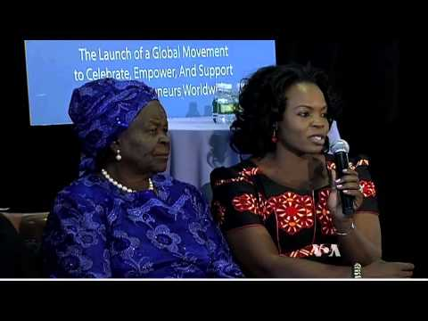 Mama Sarah Obama Honored at UN Women's Entrepreneurship Day