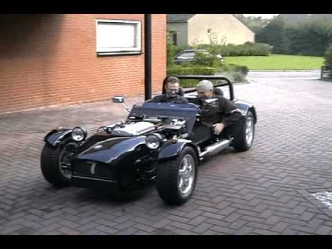Sylva  Striker (kit car) 1st test drive. High-quality.