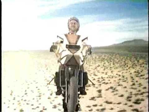 Megaforce Flying Motorcycle Scene