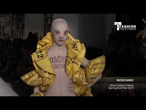 MOSCHINO Milan Fashion Week Spring/Summer 2019