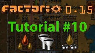 Factorio Tutorial #10 - Advanced oil processing