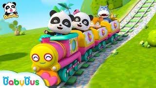 列車に乗るよ❤遊園地へ行こう!❤おでかけ | 赤ちゃんが喜ぶアニメ | 動画 | BabyBus