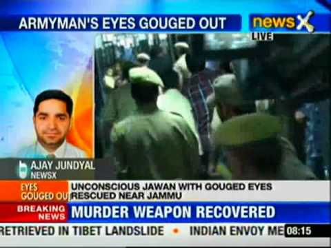 J&amp;K: Armyman found with eyes gouged