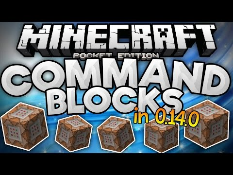 how to make a command block in minecraft pe