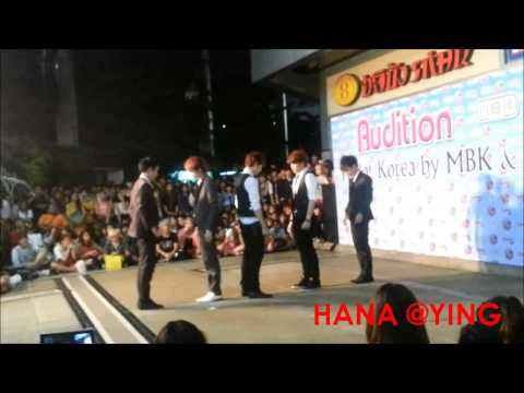 SQ5 @ Hello Korea at MBK on 27 Mar 2013