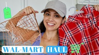 WALMART HAUL 2017 \\ GIRL WINTER CLOTHES, HOME & KITCHEN \\ Style Mom XO