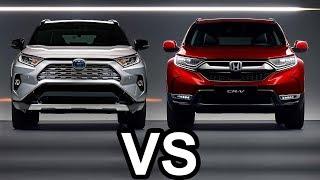 2019 Honda CR V vs 2019 Toyota RAV4