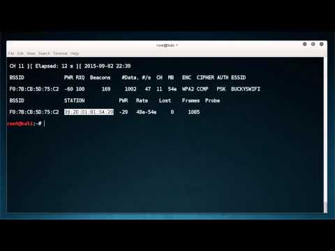 WiFi Wireless Security Tutorial - 7 - Deauthentication / Deauth Attacks