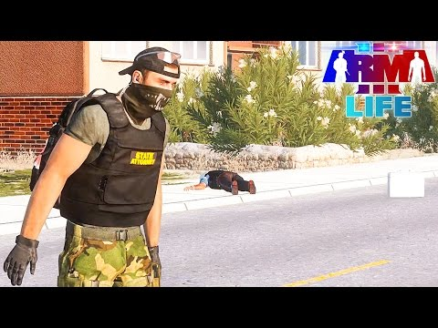 Arma 3 Life Police #94 - Hit with Pickaxe