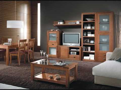 Muebles de pino que decoran tu hogar youtube - Muebles de escayola modernos ...