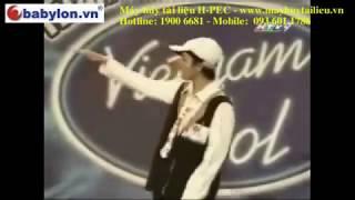 Rapper Sol'bass thi Việt Nam IDOL TOP 100