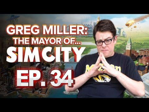 Greg Miller: Mayor of SimCity - Connecting the Towns - IGN Plays SimCity No. 34