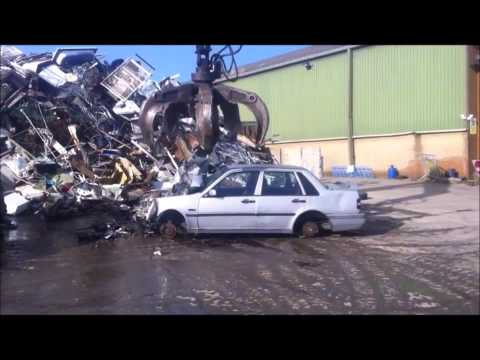 How We Process Scrap Cars