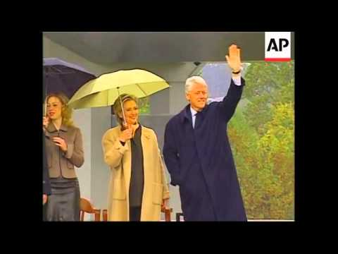 WRAP Fmr president's library opens, presidents attend