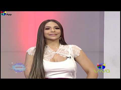 Sandra Berrocal en La Entrevista De El Show de la Comedia