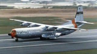 "Douglas C-133B Cargomaster - ""Unloading the Atlas Missile"" - 1960"