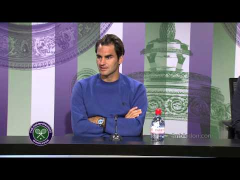 Roger Federer Pre Wimbledon Press Conference