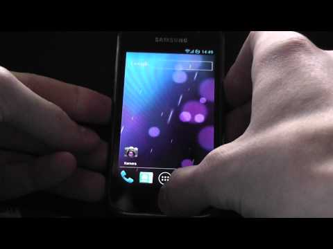 Ice Cream Sandwich Android 4.0.4 Samsung Galaxy S I9000