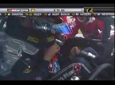 David Reutimann's Scary California Crash 2007
