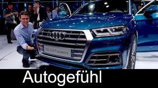 All-new Audi Q5 first look Exterior/Interior Preview Paris Motor Show  - Autogefühl