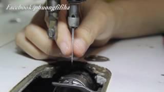 FiFi Style : Hướng dẫn chỉnh bước đi của kim và mỏ ổ,để có đường may đẹp (P2)