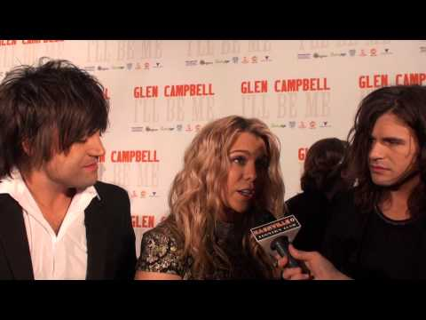 The Band Perry on their Glen Campbell Tribute Gentle on My Mind