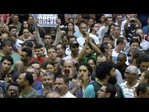 Sao Paulo metro strike is called off but threat remains to World Cup